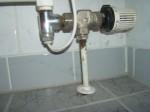 Wasserschaden, korrosion Rohrleitung, Bauschadensgutachten, 960