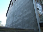 Fassadenputz, Nordseite, 1062