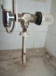 Wasserschaden, korrosion an Heizungsleitung, 1042