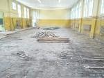 Schimmelpilz im Bodenaufbau Turnhalle 1